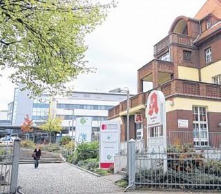 Bildinhalt:  Dickes Lob für drei Leipziger Krankenhäuser |  Das Evangelische Diakonissenkrankenhaus in Lindenau. /  Foto: André Kempner