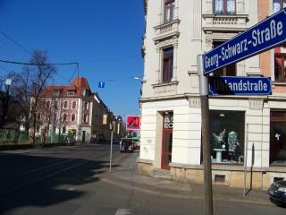 Plagwitz: Leipziger Blätter - neue Ausgabe ist da  | Ein Comeback der Georg-Schwarz-Straße steht in den Leipziger Blättern / Foto: Enrico Engelhardt