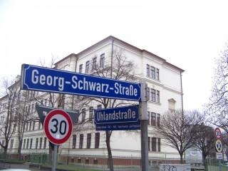 Bildinhalt: Stadt lädt Anwohner zum Forum ein  | In der Schule in der Uhlandstraße 28 findet das Forum Georg-Schwarz-Straße statt/Foto: E. Engelhardt