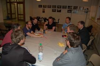 Bildinhalt: Ideensammlung beim 4. Forum Georg-Schwarz-Straße   In Arbeitsgruppen wurden beim Forum Ideen für die GSS entwickelt / Foto: Enrico Engelhardt