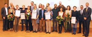 Bildinhalt: Leipziger Agenda-Preis in fünf Kategorien vergeben | Leipziger Agenda-Preis 2014 - Die Preisträger / Foto: Dieter Gruner