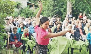 Leidenschaft in Schwarz und Rot  | Flamenco in Leutzsch: Das Ensemble