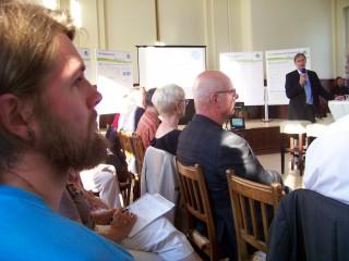 Stadt Leipzig diskutiert das Ehrenamt  | Für den BV Leutzsch nahm Vorsitzender Christian Möckel an der Veranstaltung teil/Foto: E. Engelhardt