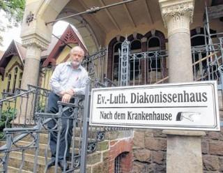 """Bildinhalt: Abschied vom """"Mädchen für alles""""    Langweilig wird es Hartmut Kirchhof fortan gewiss nicht,trotz schweren Abschieds./Foto:André Kempner"""