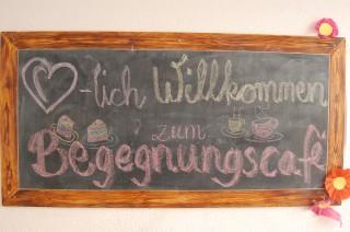 Bildinhalt: Arbeitseinsatz und Begegnungscafé im Flüchtlinghaus GSS 31 | Am 28. 11. 2014 findet das Begegnungscafé in der GSS 31 statt / Foto: Enrico Engelhardt