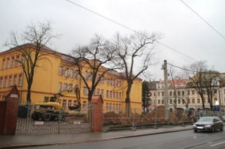 Bildinhalt: Umbauarbeiten an der 57. Oberschule  haben begonnen | Foto: Roman Grabolle