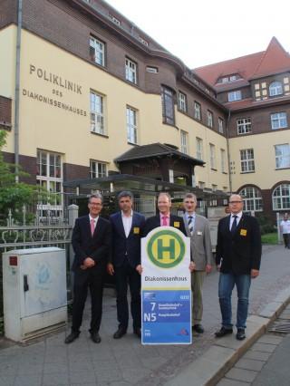Diakonissenenhaus erhält behindertengerechte Haltestelle | Foto: Christina Weiß