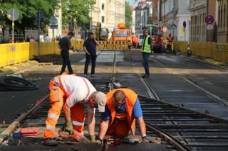 Bildinhalt: Instandsetzungen in Georg-Schwarz-Straße beendet |