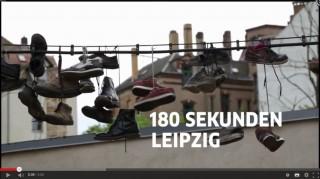 Bildinhalt: 180sec Leipzig - Bilder aus der Magistrale und vom 6. Georg-Schwarz-Straßenfest | Screenshot des Kurzfilmes auf youtube