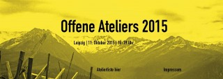 Bildinhalt: Offene Ateliers in der Magistrale am 11.10. |