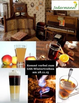 Bildinhalt: Wintertreiben # 17 - Café, Kneipe, Bar Jedermann |