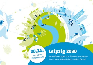 Bildinhalt: Leipzig 2030 - auf dem Weg zur nachhaltigen Stadt |