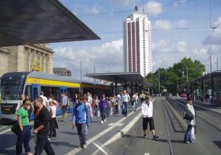 Informationsveranstaltung zur Fortschreibung des Nahverkehrsplans am Montag, den 18. Januar | Bildrechte: Stadt Leipzig