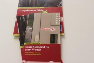 Bürgercafé des Kommunalen Präventionsrates Leipzig tagt zum Thema Einbruchsschutz |