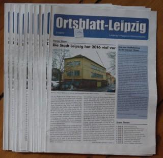 Bildinhalt: Eine neue Stadtteilzeitung für den Leipziger Westen |