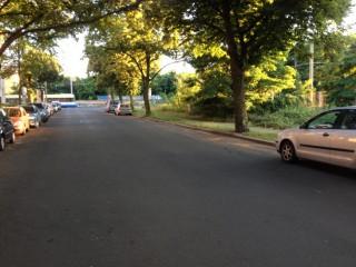 Bildinhalt: Parken in Leutzsch |