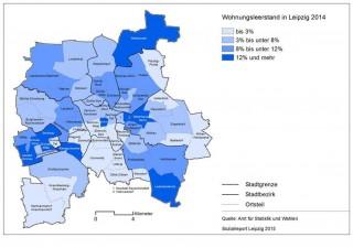 Wohnungen, Mieten, Leerstände aus dem Sozialreport der Stadt Leipzig vom 27.06.2016 |