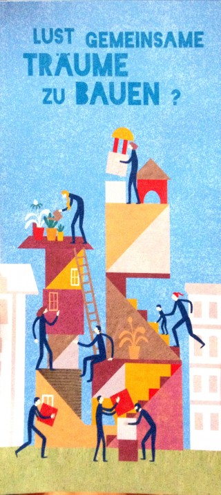 Bildinhalt: Anlaufstelle und Drehscheibe für kooperatives und bezahlbares Wohnen eingerichtet | Initiative für kooperatives und bezahlbares Wohnen