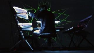 Bildinhalt: Konzert elektronischer Musik mit Lichtinstallation | WellenVorm, Foto: Clemens Jurk
