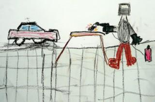 Wettbewerb - Kita-Kinder in lokale Handwerksbetriebe | ©Willem Bresack, Klasse 1, Evangelische Grundschule