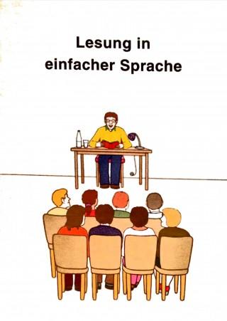 Bildinhalt: Lesung in einfacher Sprache |