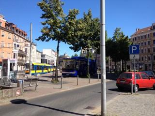 Bildinhalt: Stadträte Lindenau haben Geld für Verkehrsverbesserungen und Turnhalle beantragt |