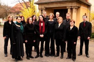 Bildinhalt: Vokalensemble TonART singt im Leipziger Diakonissenhaus | ensemble TonART