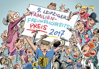 Bildinhalt: Vorschläge + Verstärkung der Kinderjury gesucht- Familienfreundlichkeitspreis | (c) Schwarwel