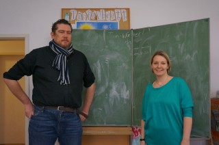Wer ist G.E.O.R.G? | Cristoph Schumacher und Manja Ruck in G.E.O.R.G.s Lernzimmer