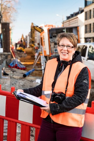 Bildinhalt: Interview mit Frau Fiolka- Eichler |  Frau Fiolka- Eichler, Foto Leipziger Gruppe