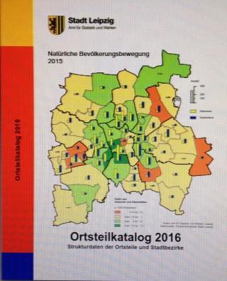Ortsteilblatt 2016 der Stadt Leipzig erschienen | Ortsteilblatt 2016