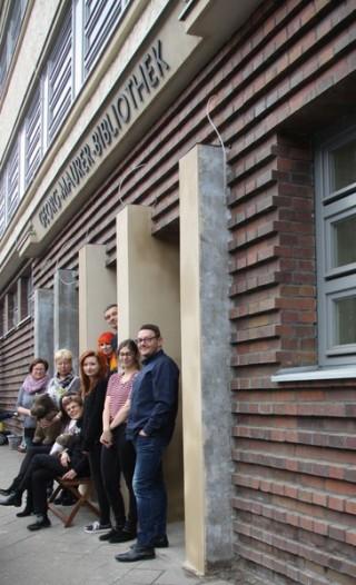 Georg-Maurer-Bibliothek Wiedereröffnung | Team Georg-Maurer bald wieder für uns da