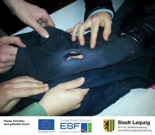 HuUpa (Handwerk- und Upcyclingakademie) Jahresprogramm | Textiles Reparieren mit Anna von SpenniundKleid