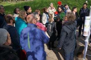 Bildinhalt: Bürgerbeteiligung  Spielplatz am  Wasserschloß | Zum Bürgerbeteiligungstermin am Wasserschloß
