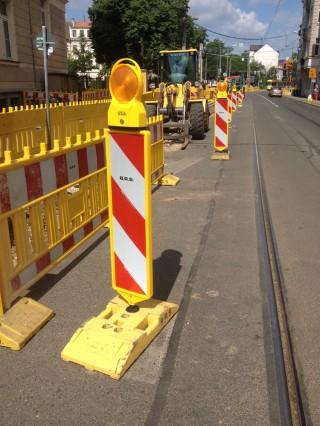 Bildinhalt: Aktuelles zum Ausbau der Georg-Schwarz-Straße |