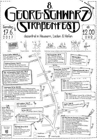 Bildinhalt: 8. Georg-Schwarz-Straßenfest 2017 |