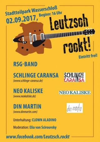 Bildinhalt: Leutzsch rockt! |