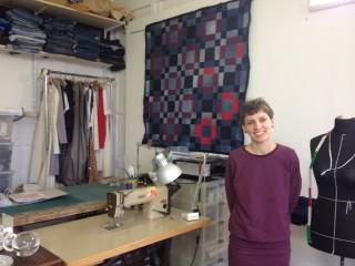 Nähkurse in Leutzsch | Daniela Witt in ihrem Atelier