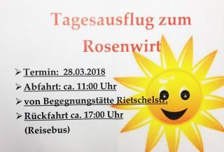 Bildinhalt: Seniorenausflug der Arbeiterwohlfahrt in Lindenau |