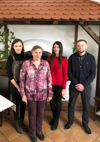 Bildinhalt: Neues deutsch- russisches Restaurant KATHARINA | Das Betreiberteam Familie Schneider
