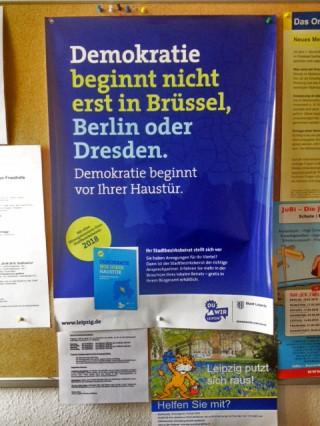 Bildinhalt: Broschüre zur Erleichterung der Bürgerbeteiligung der Stadt Leipzig erschienen |