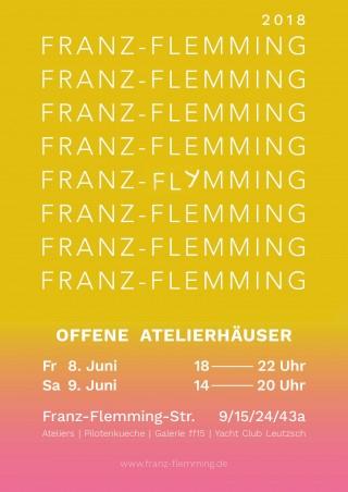 Bildinhalt: _FRANZ-FLEMMING OFFENE ATELIERHÄUSER _  