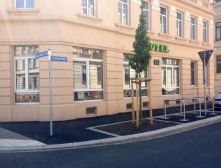 Weitere sechs Einmündungsbereiche in die Georg-Schwarz-Straße werden umgebaut |