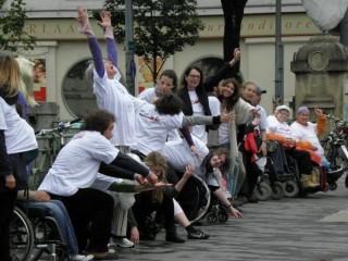 Bildinhalt: Inklusives Theaterprojekt und Forumtheater | Foto: Theater Rote Rübe