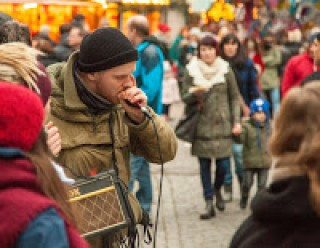 Bildinhalt:  KAOS LoopArt-Festival  | Phonetics Straßenmusik
