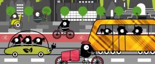 Bildinhalt: Europäische Mobilitätswoche rund um die Georg-Schwarz-Straße |