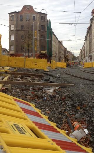 Georg-Schwarz-Straße – Straßensperrung ab 16. November |