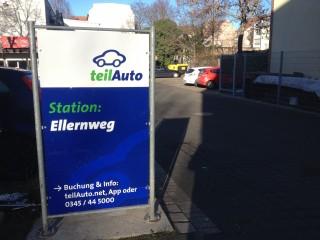 Neue Teilautostation | Teilautostation Ellernweg
