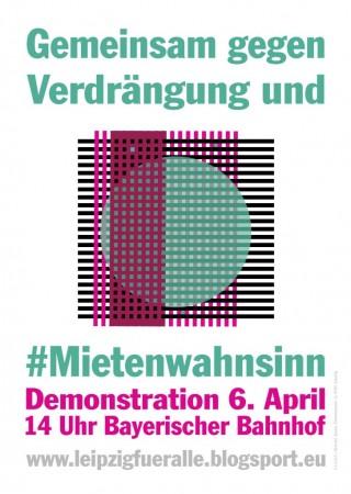 Demonstration gegen Verdrängung und Mietenwahnsinn |