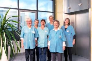 Bildinhalt: Ehrenamtlicher Besuchsdienst seit 20 Jahren im Leipziger Diakonissenkrankenhaus aktiv | Foto: Kay Zimmermann